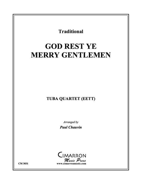 God Rest Ye Merry Gentlemen Tuba Quartet (EETT) (Trad./ arr. Chauvin)