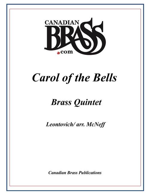 CAROL OF THE BELLS BRASS QUINTET (LEONTOVICH/ ARR. MCNEFF) PDF Download