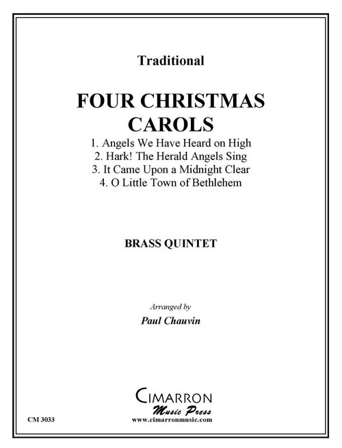 FOUR CHRISTMAS CAROLS BRASS QUINTET (TRAD./ ARR. CHAUVIN) PDF Download