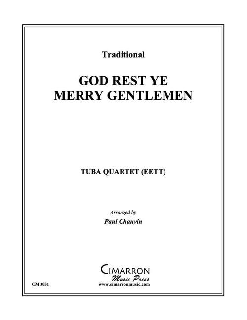 GOD REST YE MERRY GENTLEMEN TUBA QUARTET (EETT) (TRAD./ ARR. CHAUVIN) PDF Download