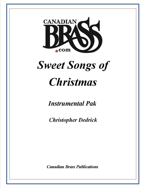 Sweet Songs of Christmas Instrumental Pak Only (for use with CB0843) PDF Download