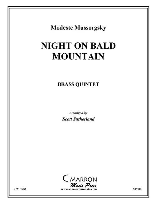 Night on Bald Mountain Brass Quintet (Mussorgsky/ arr. Sutherland)