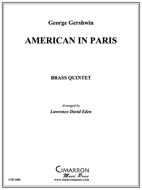 An American in Paris Brass Quintet (Gershwin/ arr. Lawrence David Eden)
