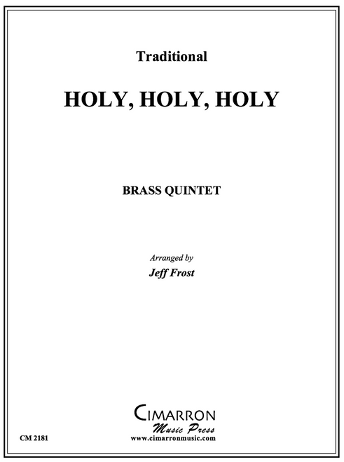Holy Holy Holy Brass Quintet (arr. Jeff Frost) PDF Download