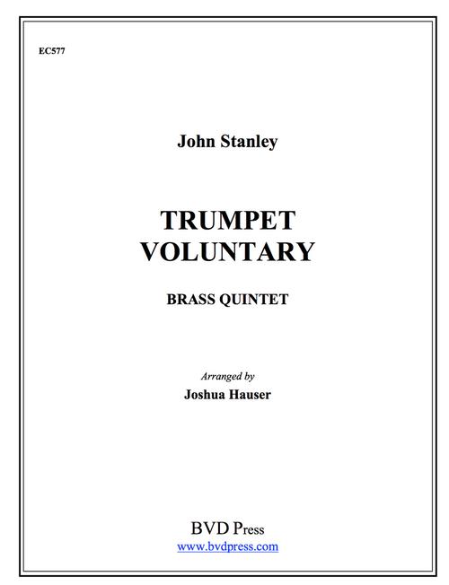 Trumpet Voluntary for Brass Quintet (Stanley/arr Hauser) PDF Download