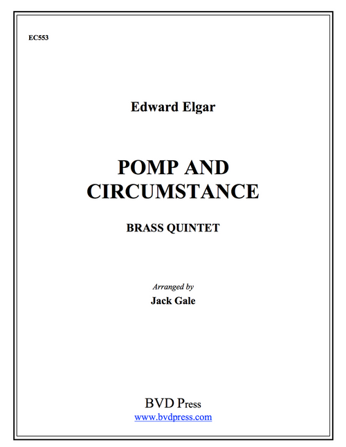 Pomp and Circumstance Brass Quintet (Elgar/ arr. Gale) PDF Download