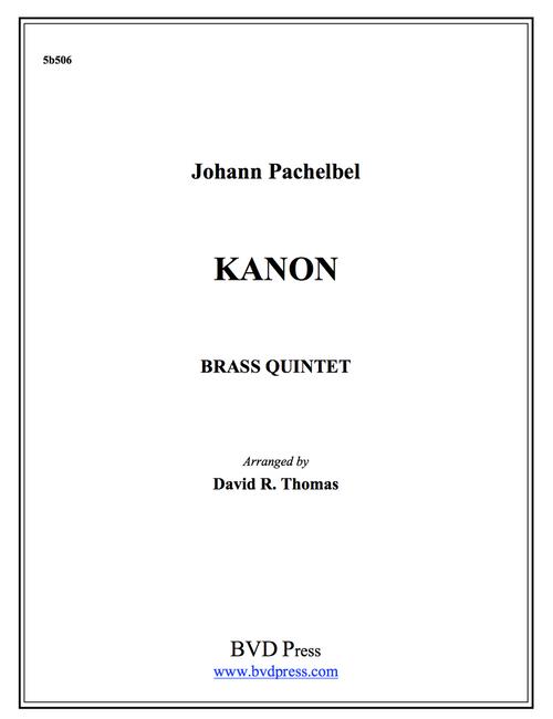 Kanon Brass Quintet (Pachelbel/Thomas)