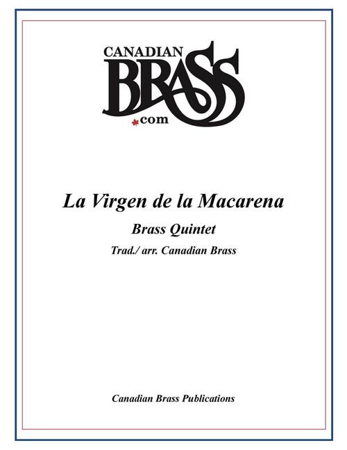 La Virgen De La Macarena Brass Quintet (Trad./ arr. Canadian Brass) PDF Download