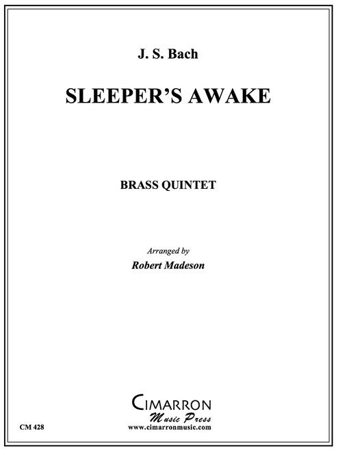 Sleeper's Awake Brass Quintet (Bach/arr. Madeson) PDF Download