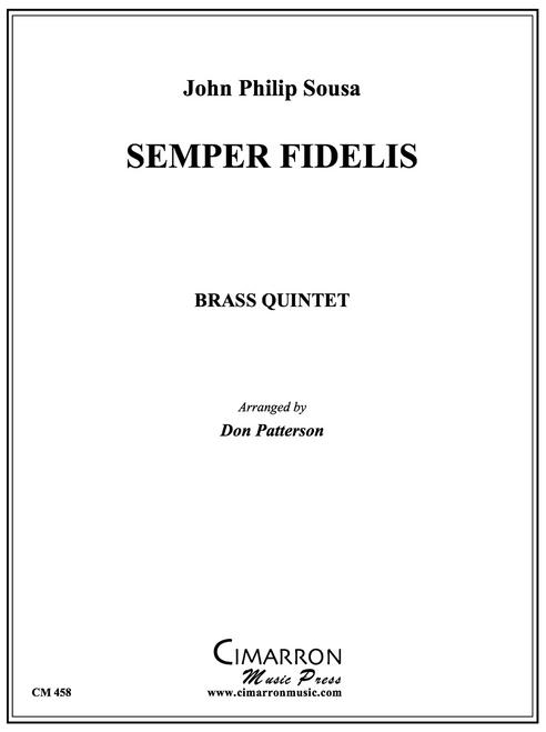 Semper Fidelis Brass Quintet (Sousa/ arr. Patterson) PDF Download