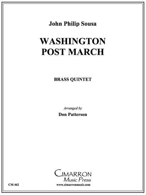 Washington Post March Brass Quintet (Sousa/ arr. Patterson) PDF Download