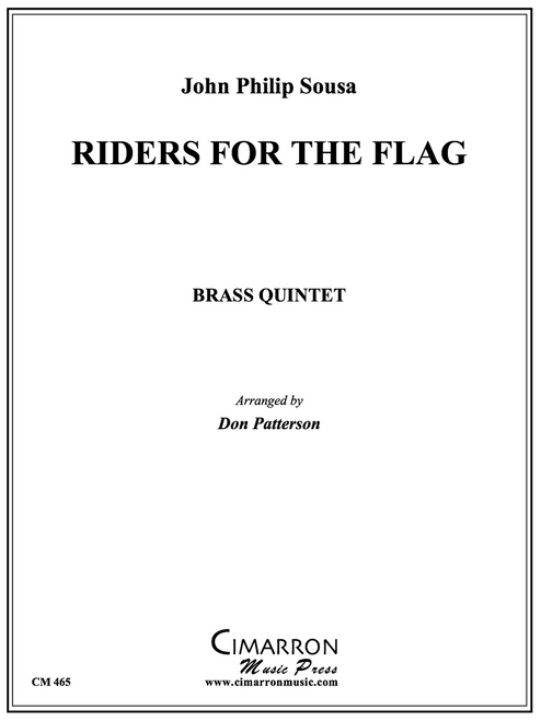 Riders for the Flag Brass Quintet (Sousa/arr. Patterson)
