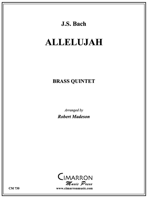 Allelujah Brass Quintet (Bach/Madeson)