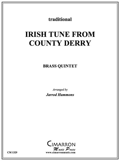 Irish Tune from County Derry Brass Quintet (Trad./ Hammons) PDF Download