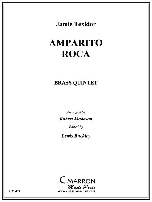 Amparito Roca Brass Quintet (Texidor/ arr. Madeson) PDF Download