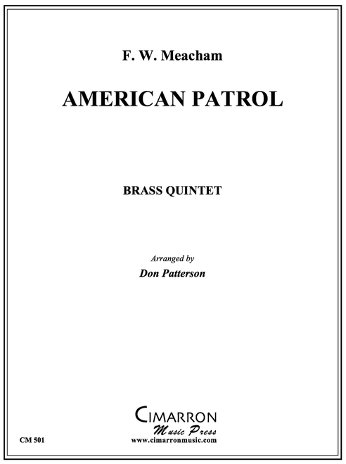 American Patrol Brass Quintet (Meachem/Patterson) PDF Download