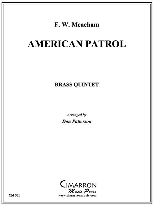 American Patrol Brass Quintet (Meachem/Patterson) PDF Download