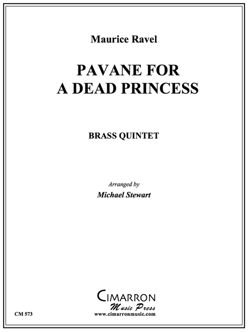 Pavane for A Dead Princess Brass Quintet (Ravel/Stewart) PDF Download