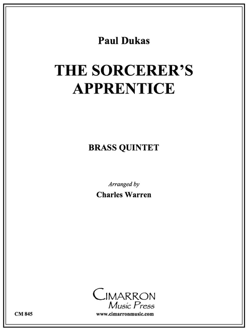 The Sorcerer's Apprentice Brass Quintet (Dukas/Warren) PDF Download