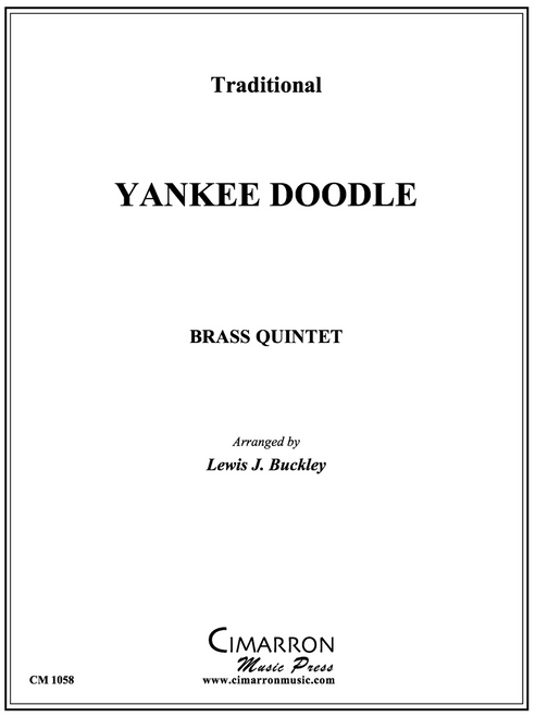 Yankee Doodle Brass Quintet (Trad./ arr. Buckley) PDF Download