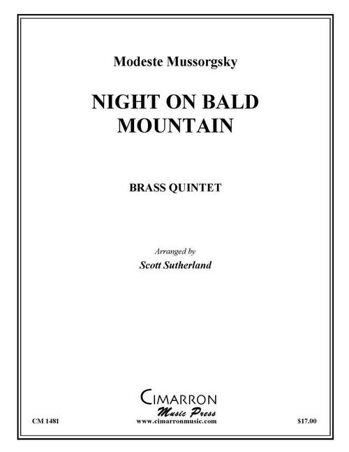 Night on Bald Mountain Brass Quintet (Mussorgsky/Sutherland) PDF Download