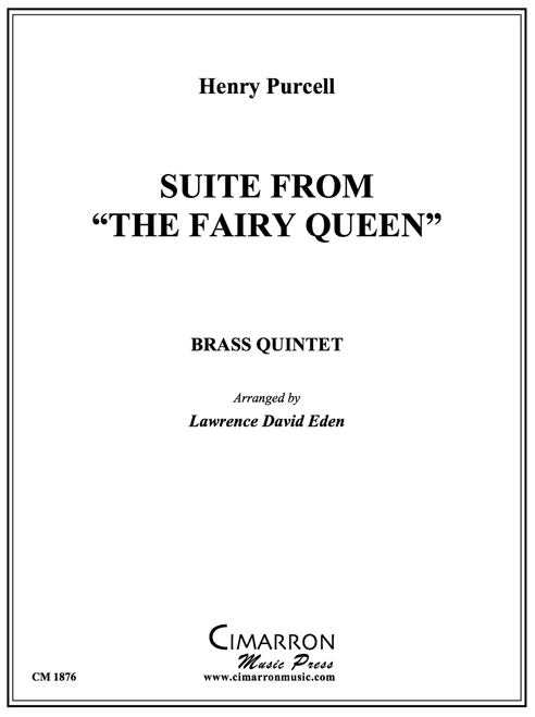 """Suite from """"The Fairy Queen"""" Brass Quintet (Purcell/Lawrence David Eden) PDF Download"""