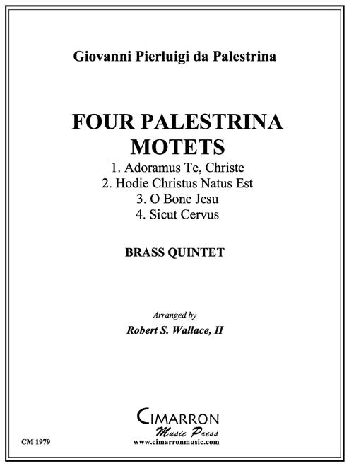 Four Palestrina Motets for Brass Quintet (Palestrina/Robert Wallace, III) PDF Download