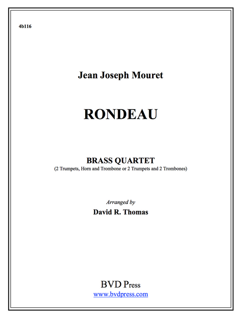 Rondeau Brass Quartet (Mouret/Thomas) PDF Download