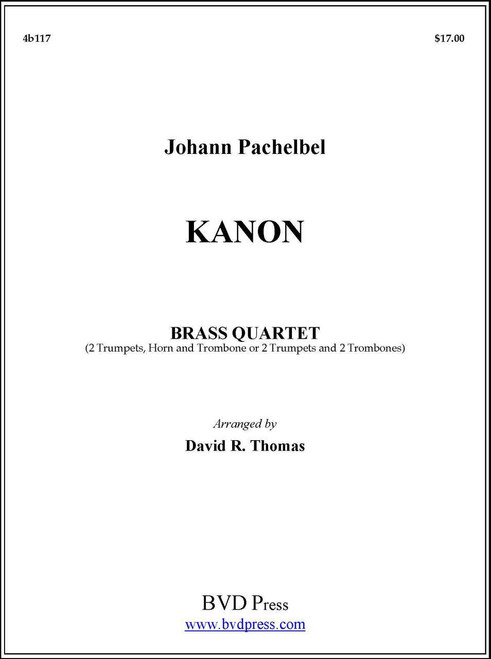 Kanon Brass Quartet (Pachelbel/Thomas) PDF Download