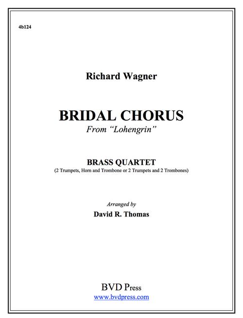 Bridal Chorus Brass Quartet (Wagner/Thomas) PDF Download