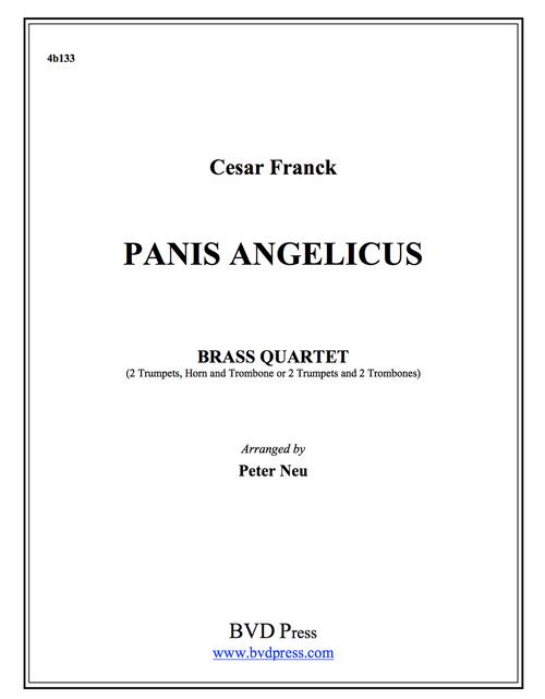 Panis Angelicus Brass Quartet (Franck/Neu) PDF Download