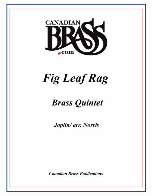 Fig Leaf Rag Brass Quintet (Joplin/arr. Norris)