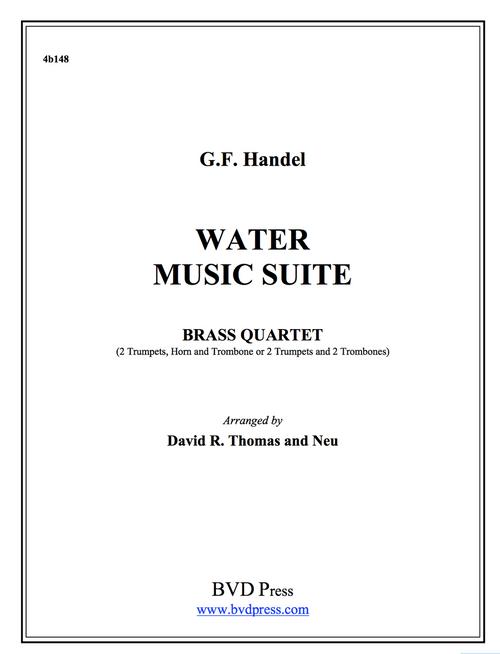 Water Music Suite Brass Quartet (Handel/Thomas) PDF Download