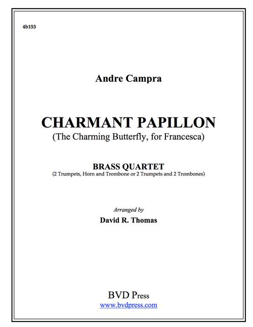 Charmant Papillon Brass Quartet (Campra/Thomas) PDF Download