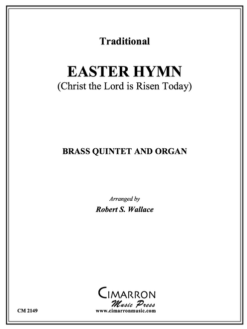Easter Hymn Brass Quintet and Organ (Trad./Wallace) PDF Download