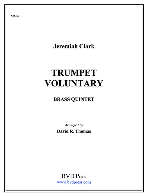 Trumpet Voluntary Brass Quintet (Clarke/Thomas) PDF Download