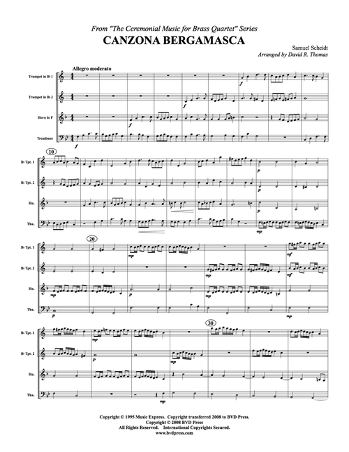 Ceremonial Music for Brass Quartet Trumpet 2 PDF Download