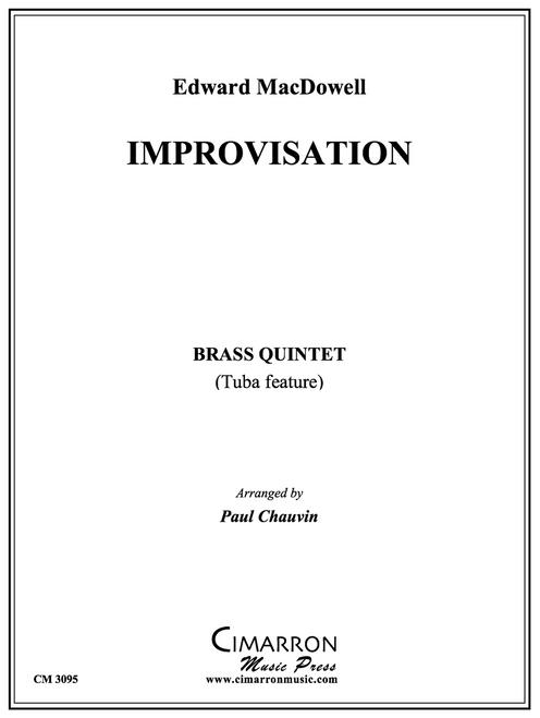 Improvisation Brass Quintet (MacDowell/arr. Chauvin)