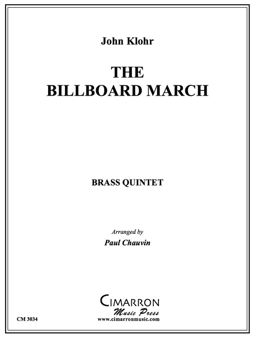 The Billboard March Brass Quintet (Klohr/arr. Chauvin) PDF Download