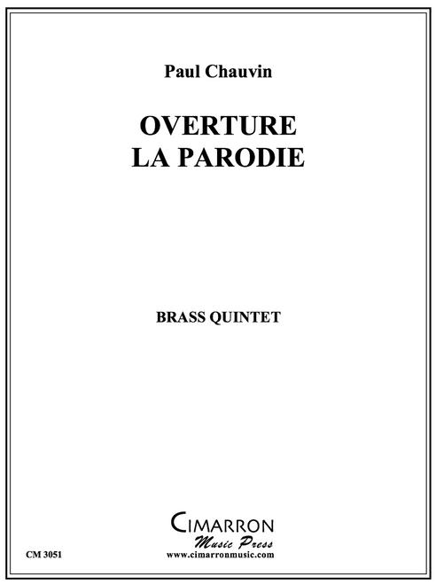 Overture La Parodie Brass Quintet (Paul Chauvin) PDF Download