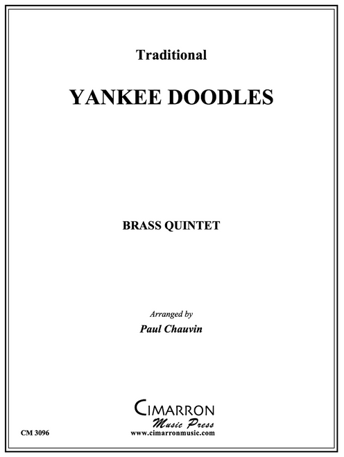 Yankee Doodles Brass Quintet (Trad./arr. Chauvin) PDF Download