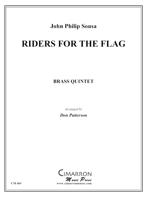 Riders for the Flag Brass Quintet (Sousa/arr. Patterson) PDF Download