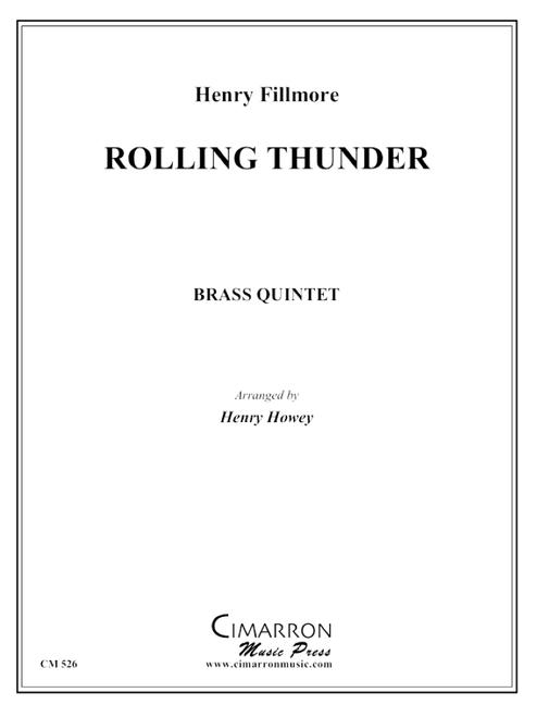 Rolling Thunder Brass Quintet (Fillmore/Howey) PDF Download