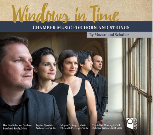 Windows in Time (Chamber Music for Horn and Strings) Digital Download Recording