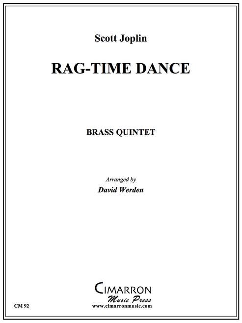 Rag-Time Dance for Brass Quintet (Joplin/Werden) PDF Download