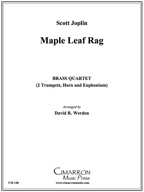 Maple Leaf Rag Brass Quartet (Joplin/arr. Werden) PDF Download