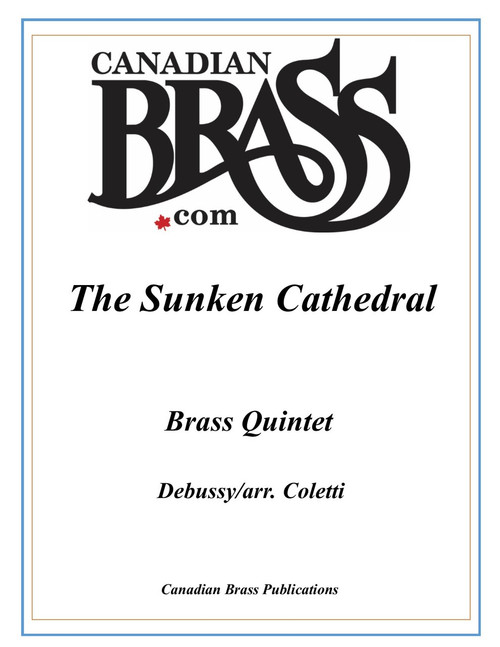 The Sunken Cathedral Brass Quintet (from Preludes Book 1) (Debussy/arr. Coletti) PDF Download