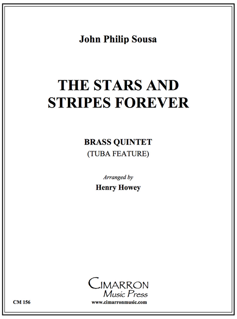 The Stars and Stripes Forever Brass Quintet (Sousa/Howey) PDF Download