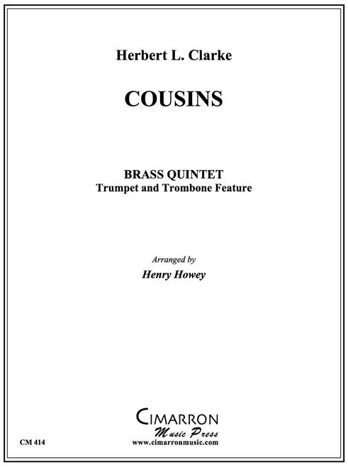 Cousins Brass Quintet (Clarke/Howey)