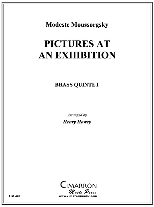 Pictures at an Exhibition Brass Quintet (Mussorgsky/Howey)